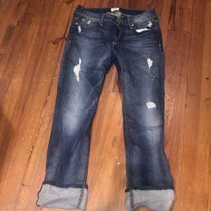 Hudson ladies jeans size 30 jeans crop Ginny NWOT